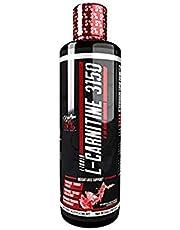 5% näringsvätska L-karnitin 3150, vattenmelon godis, 473 ml