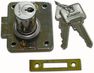 ランプ面付シリンダー錠 2620-30 別カギタイプ