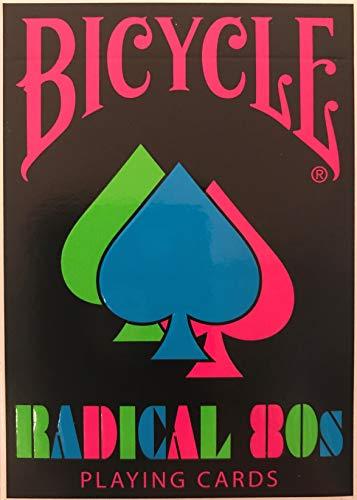 Bicycle Radical 80s Playing Cards