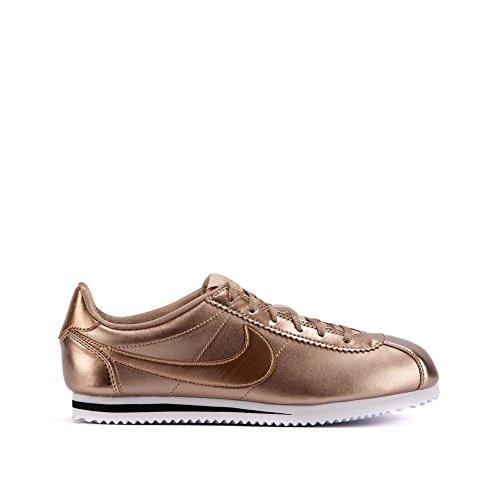 innovative design 74ff0 8211e Nike Cortez SE (GS) 859569-901 Metallic Red Bronze Leather .