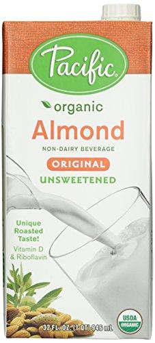 Pacific Foods Organic Original Almond Milk - Unsweetened - 32 oz