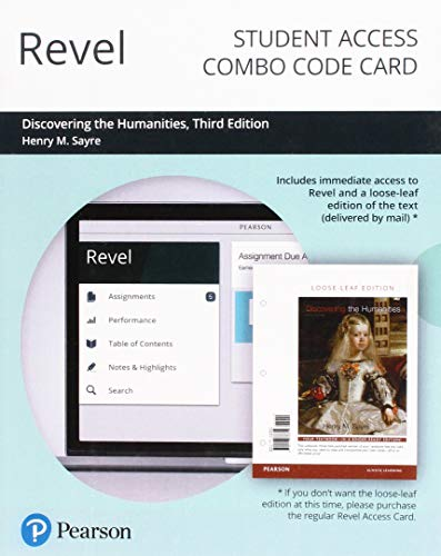 Revel for Discovering the Humanities -- Combo Access Card (3rd Edition)