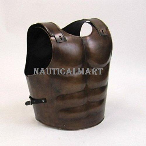 NAUTICALMART真鍮アンティークローママッスルCuirass中世Armor