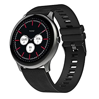 41LEyZ%2BZCyL. SS320 Noise NoiseFit Evolve Full Touch Control Smart Watch with AMOLED Display - Slate Black