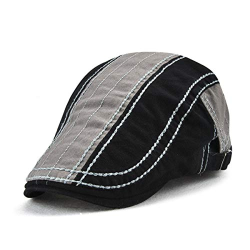Contraste de de B Hombre B GLLH Sombrero de Simple qin hat y Color Gorra Sombreros Mujer Sombrero Hombre wYxqPA0x