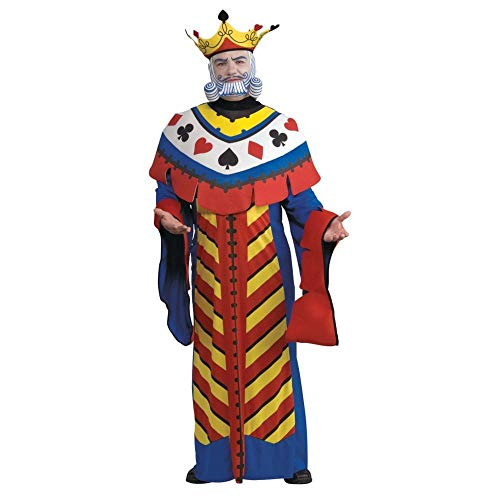 Creative And Unique Halloween Costumes (Playing Card King Adult Costume -)