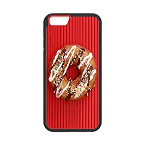 [Funny Series] IPhone 6 Case Donuts, Iphone 6 Case Luxury Men Okaycosama - Black