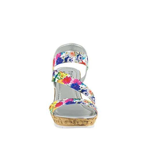 Fiore Di Sandalo Con Sandalo Con Zeppa, Facile Da Strada