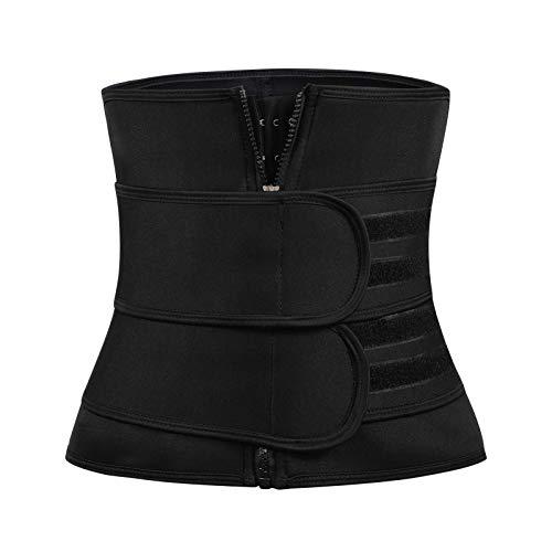 JKEEMI Waist Trainer for Women Men, Waist Trimmer Sweat Cincher Corset Waist Trainer Belt for Body Slimming Weight Lose