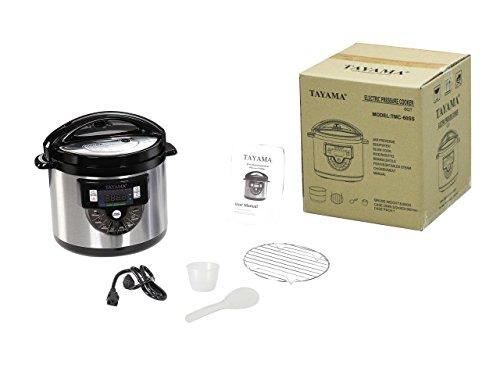 Tayama Electric Cooker Pot 6 Black