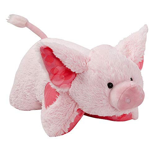Pillow Pets Sweet Scented Pets - Bubble Gum Piggy, 16