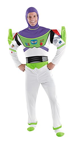 Morris Costumes Men's BUZZ LIGHTYEAR DLX ADULT, 50-52