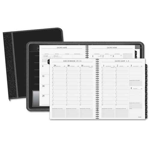 onthly Appointment Book/Planner 2017, Executive, 8-1/4 x 10-7/8