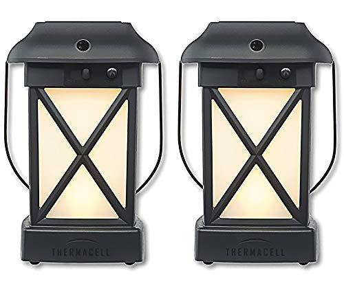 - Thermacell Outdoor Mosquito Repeller Plus Lantern, Cambridge Patio Shield, 2-Pack