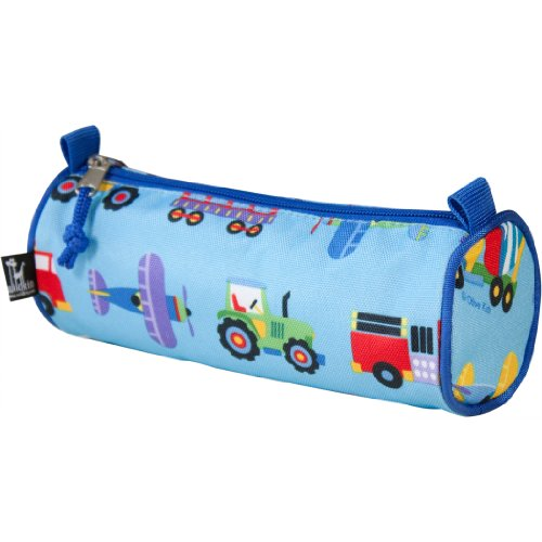 Wildkin Olive Kids Trains, Planes and Trucks Pencil Case