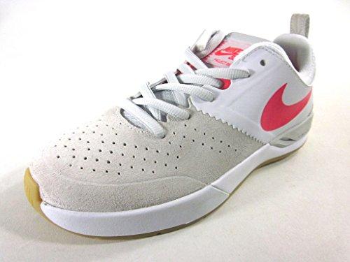 Zapatillas Nike Hombres Sb Project Ba Skate White / Crimson / Beige