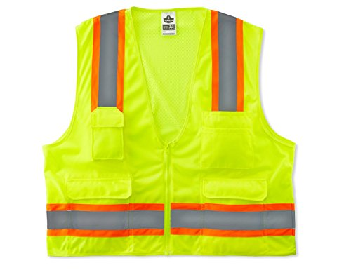 GloWear 8248Z Two Tone Surveyors Reflective