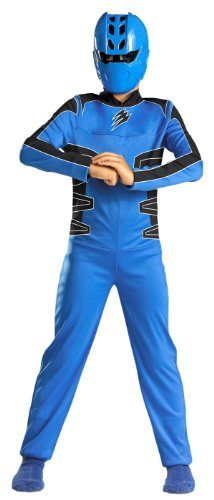 Jungle Fury Blue Ranger Costume - Child