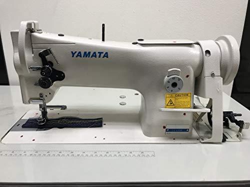 Yamata 206RB Upholstery Needle Feed Walking Foot Stand w/Consew 206RB-5 Cut,Lamp & Servo Motor DIY