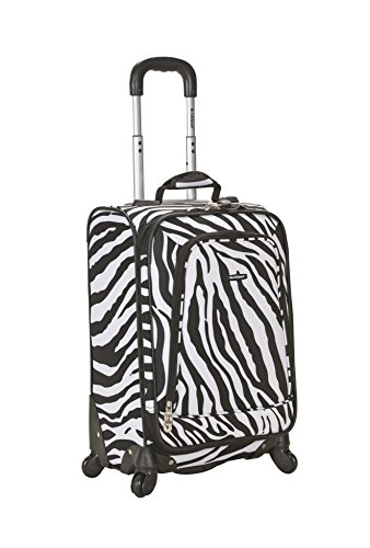 rockland-luggage-20-inch-printed-spinner-carry-on-zebra-medium