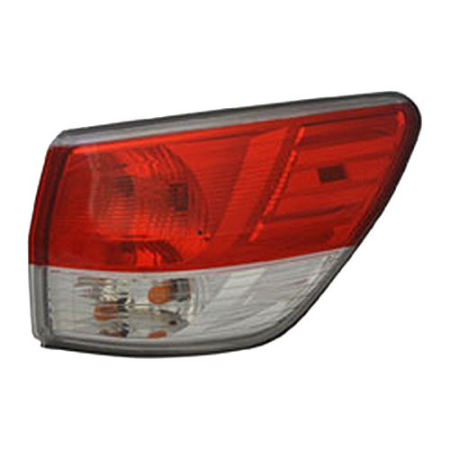 TYC 11-6567-00-1 Nissan Pathfinder Replacement Tail - Tail Pathfinder Nissan Lamp