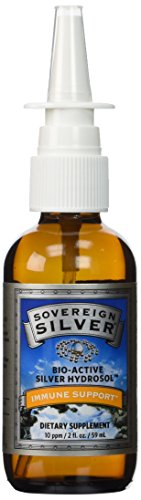 Colloidal Silver Nose Spray (Sovereign Silver Colloidal Silver Nasal Spray- 2 oz. (59 ml))