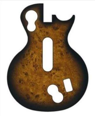 Guitar Faceplates (Guitar Hero Faceplate -- Maple Wood (Les Paul Controller))