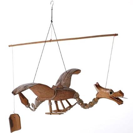 Flying Dragon Mobile Hanging Decoration 40cm Long