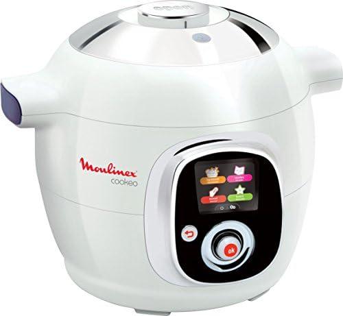 Moulinex Cookeo olla multi-cocción 6 L 1200 W Blanco - Ollas multi-cocción (6 L, 1200 W, 6 personas(s), 15 h, Blanco, LCD): Amazon.es: Hogar