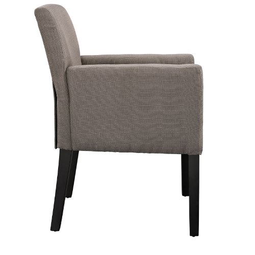Modway Chloe Armchair Set of 2 in Gray