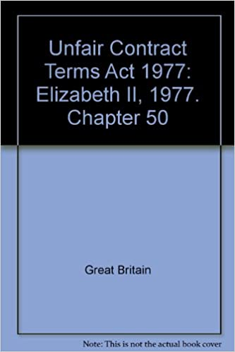 the unfair contract terms act 1977
