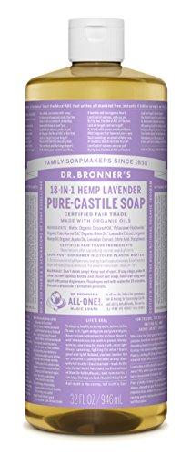 Dr. Bronner's Pure-Castile Liquid Soap - Lavender 32oz.