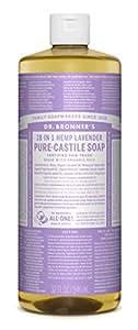 Dr. Bronner's Pure-Castile Liquid Soap - Lavender 32 oz.