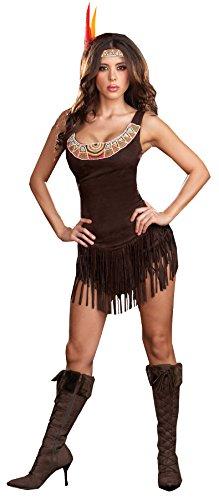 Pocahottie Adult Costume - Plus Size -
