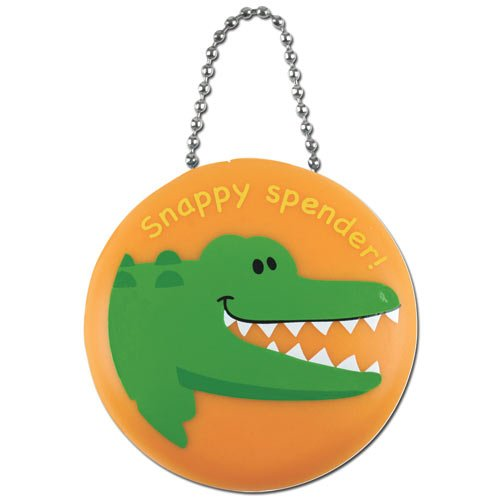 Penny Coin Costume (Stephen Joseph Alligator Penny Pinchers Coin Purse Party Accessory)