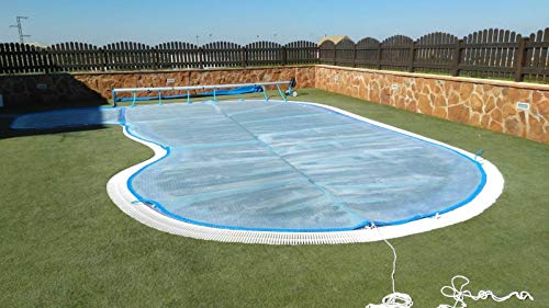 Winder and Thermal Blanket 3 X 9 M For Swimming Pool Geo ...