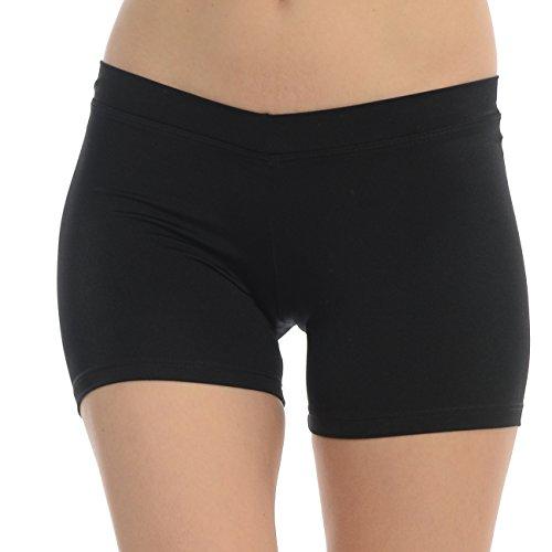 ANZA V-Waist Girls Dance Booty Shorts-Bl - V-waist Dance Shopping Results