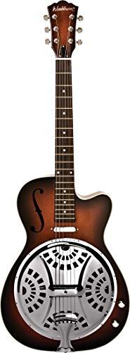 Washburn 6 String Resonator Guitar, Right (R15RCE-A) ()