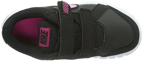 NIKE Flex Experience LTR (PSV) - Zapatillas de correr de tela niña Negro (Black/Vivid Pink-White)