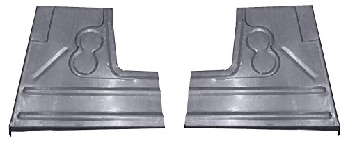 Motor City Sheet Metal - Works With 1940 1941 FORD PICKUP TRUCK FRONT FLOOR PANS NEW PAIR!!!