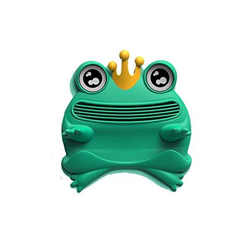 - Silicone Cute Frog Mobile Phone Holder Anti-Slip mat Glasses Holder Non-Slip pad (Teal)