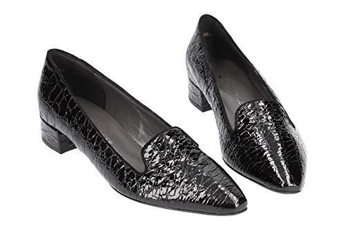 Mujeres Pearl Patentes Croc Patti Zapatos Fumar Deslizador Peter Kaiser Black De BvqwH56