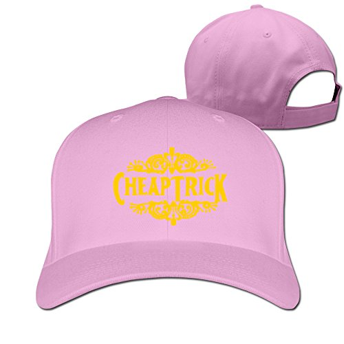 [HornBygill Cheap Trick Rock Band Heaven Tonight Police Hat Pink] (Cheap Police Hats)