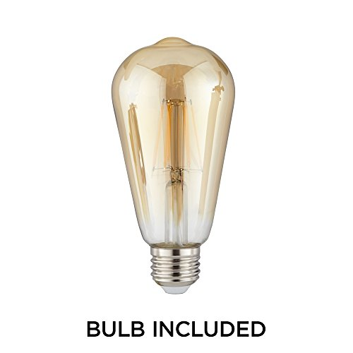 Bendlin 31'' Wide Oil-Rubbed Bronze 4-Light LED Bath Light by Franklin Iron Works (Image #6)