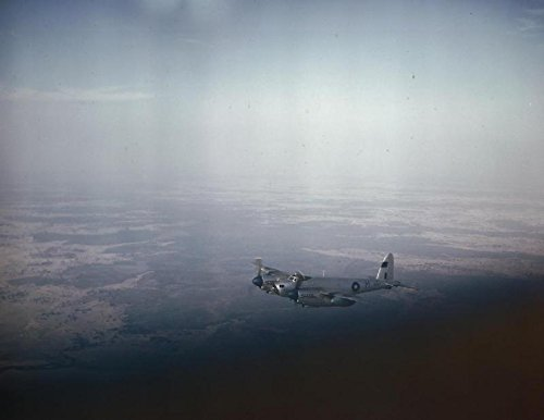 Home Comforts Royal Air Force Photographic Reconnaissance Mosquito in Flight Over Bengal, March 1945 De Havilland
