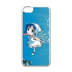 NIÑA SQUID 02 de funda caja del teléfono celular 5c mejor cubierta del funda iPhone blanco