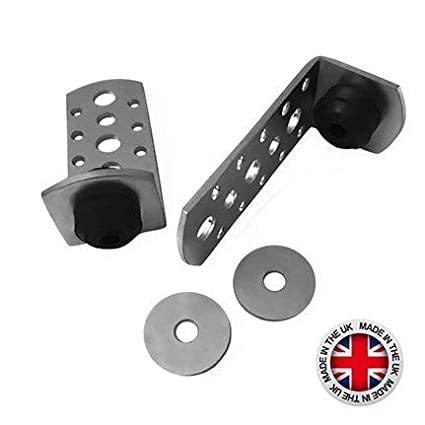 Acoustic Bracket with EPDM Rubber Washer 70mm (100 per Box)
