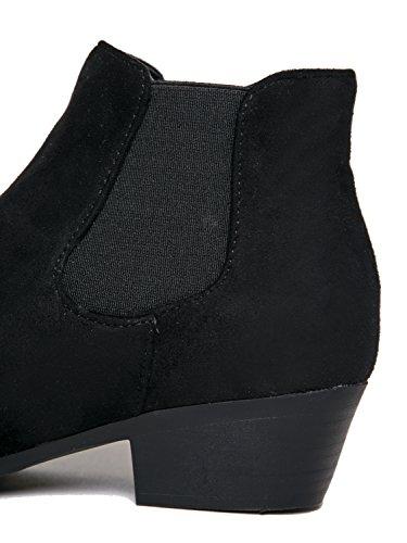 Alton Western Ankle Bootie, Black IMSU, 8.5 B(M) US by ZooShoo (Image #4)