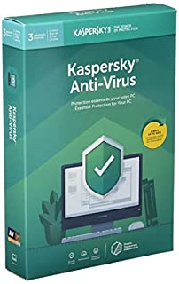 Kaspersky Labs Kaspersky Antivirus 3 User 1 Year 2019 (B07JC5LZBY) | Amazon Products