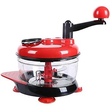 Nice Food Processor, Mixer And Blender, Manual Food Chopper, Salsa Maker,  Handheld Vegetable